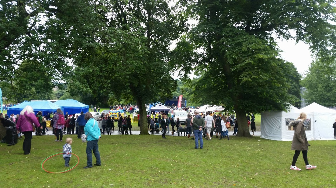 A day on my feet: Volunteering at Kirkstall Festival - Lost in the North