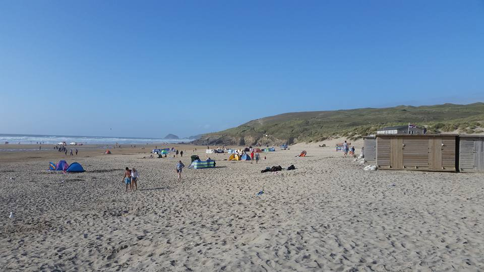 Home is where the sea is: Swimming at Perranporth - Lost in the North