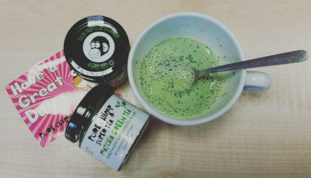 Matcha over gin: Being healthy with PureChimp - Lost in the North