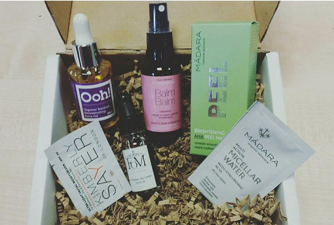 LoveLula September beauty box review - Lost in the North