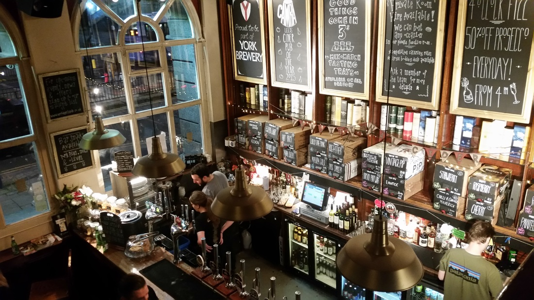 Cider and pies: Mr Foleys Tap House - Lost in the North