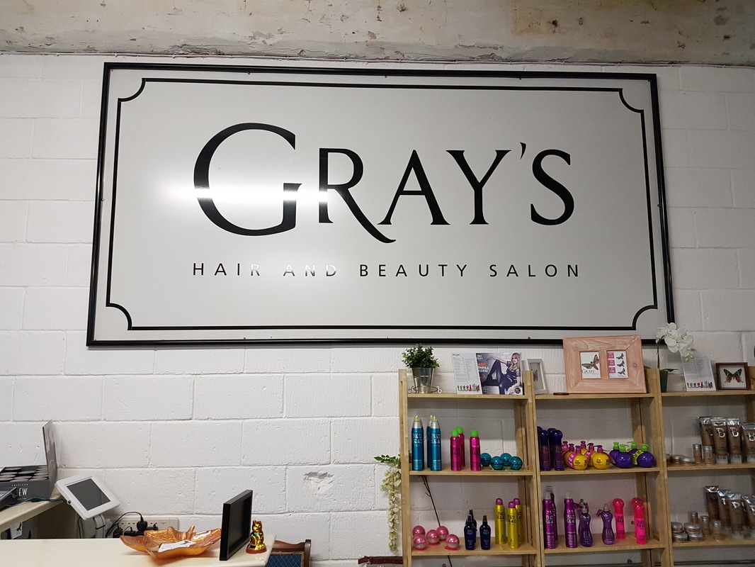 Gray's Salon has moved!  - Lost in the North
