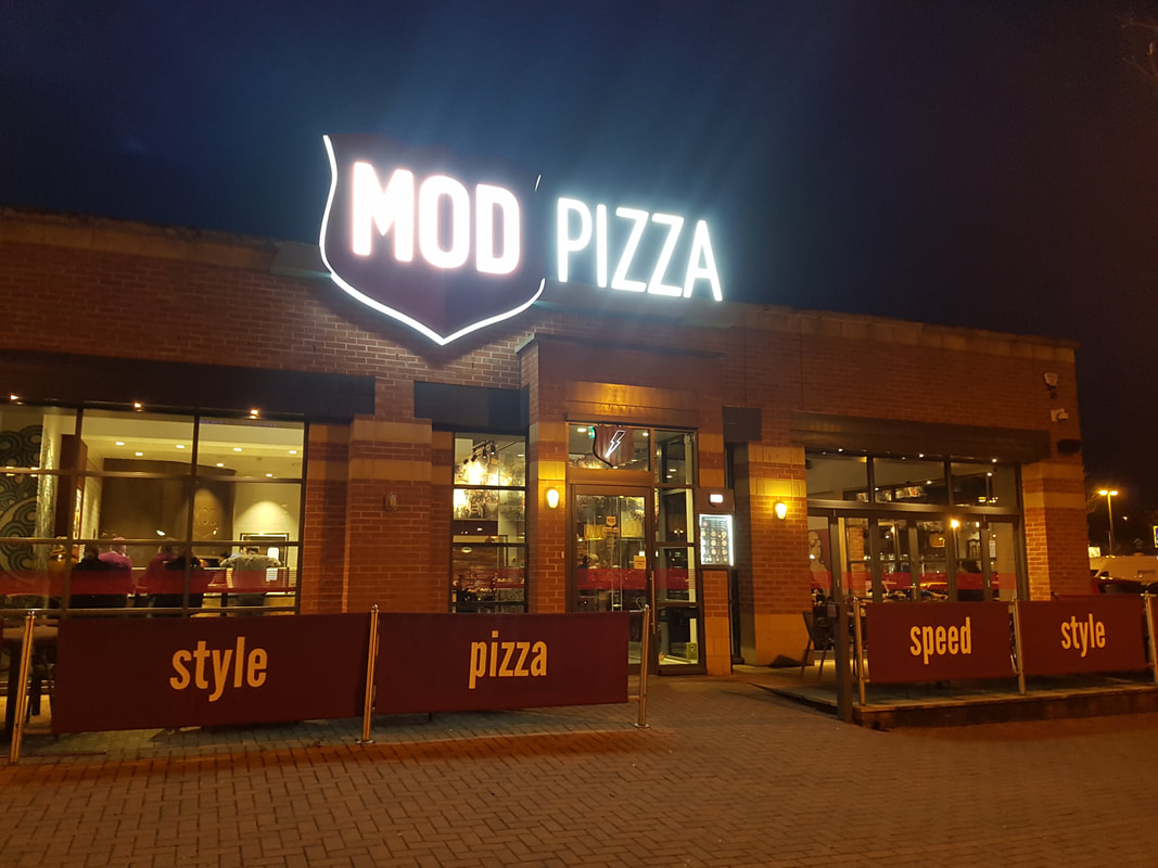 MOD Pizza aka the best kind of pizza - Lost In The North