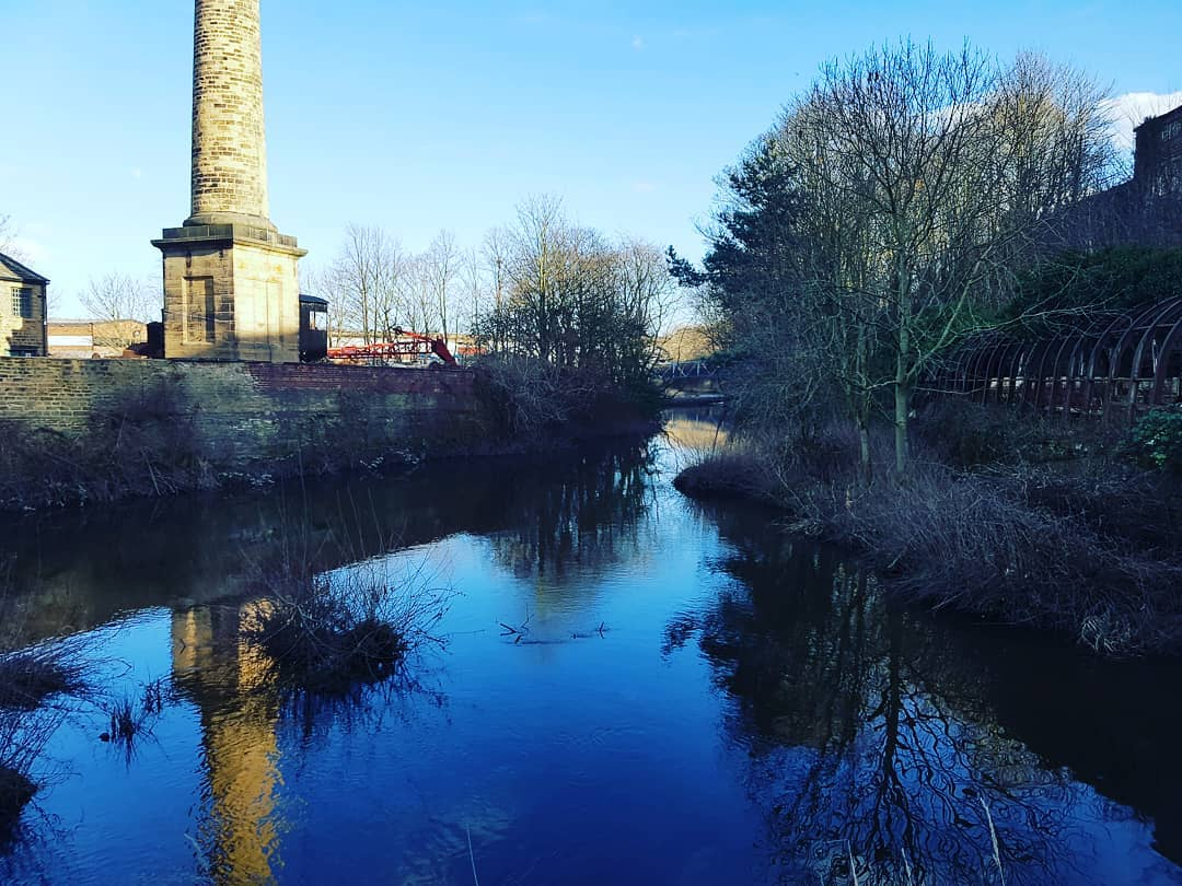 Armley Mills in spring
