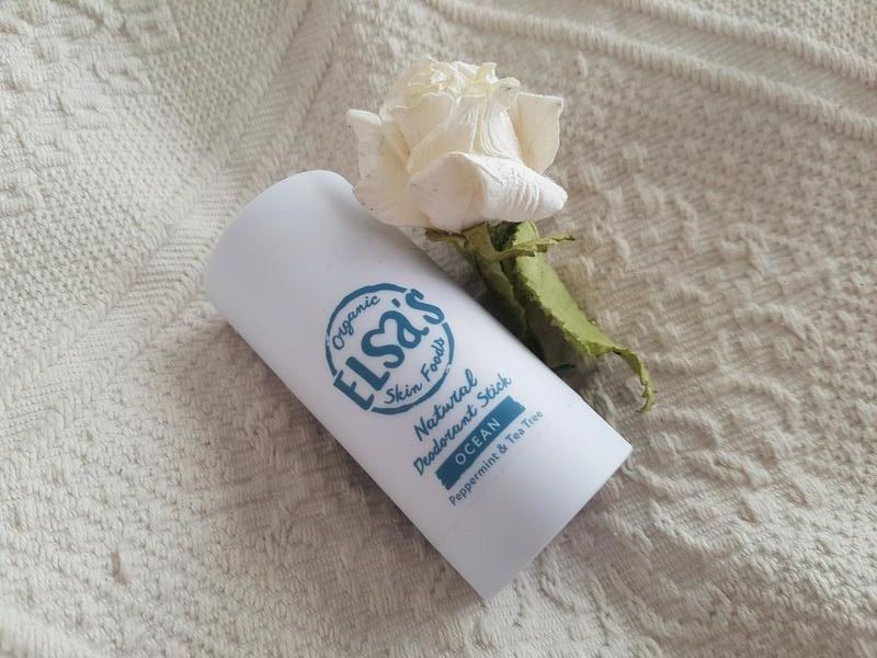 Elsa's Organic Skin Foods Natural Deodorant Stick Review - Lost In The North